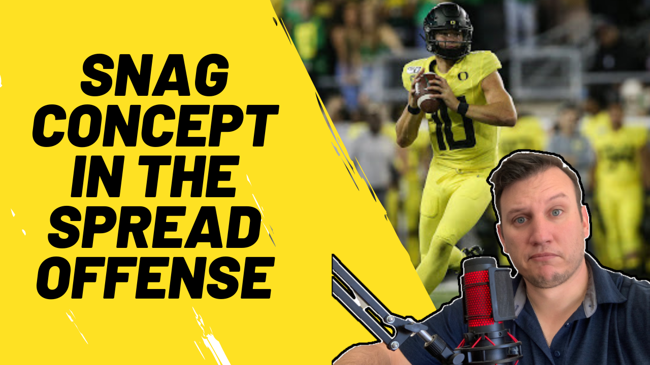 snag concept in the spread offense